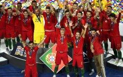 Португалын шигшээ Үндэстнүүдийн лигийн анхны цомыг хүртлээ