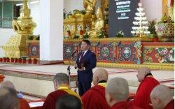 Ерөнхийлөгч Азийн буддистуудын энх тайвны бага хуралд оролцогчдод мэндчилгээ дэвшүүллээ