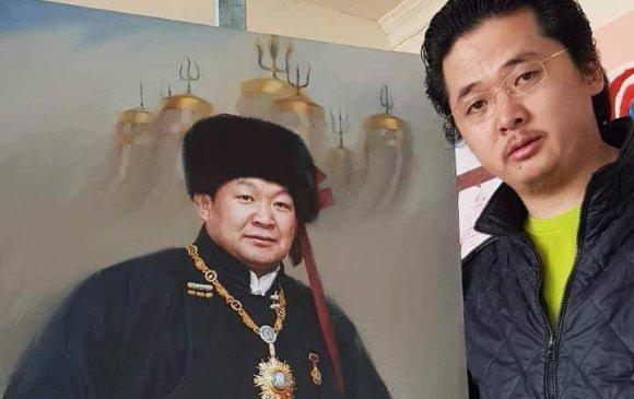 Оддын хөрөг зургийн мастер Т.Чингисийн урлан