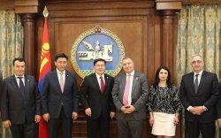 Бүгд Найрамдах Армен Улсын парламентын төлөөлөгчдийг хүлээн авч уулзлаа