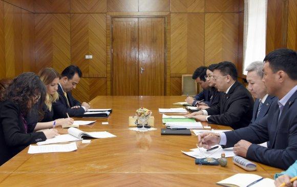 ОУПХ-ны Парламентчдын хүний эрхийн хорооны дарга Др.Александра Жерковтой уулзлаа