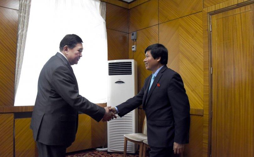 М.Энхболд Чан Данг Чинь тэргүүтэй төлөөлөгчдийг хүлээн авч уулзлаа
