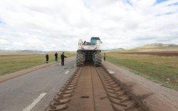 Улаанбаатар-Дархан чиглэлийн зам 15 хоногийн хоцрогдолтой явна