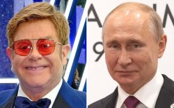 Элтон Жон Путинд гомдол мэдүүлэв