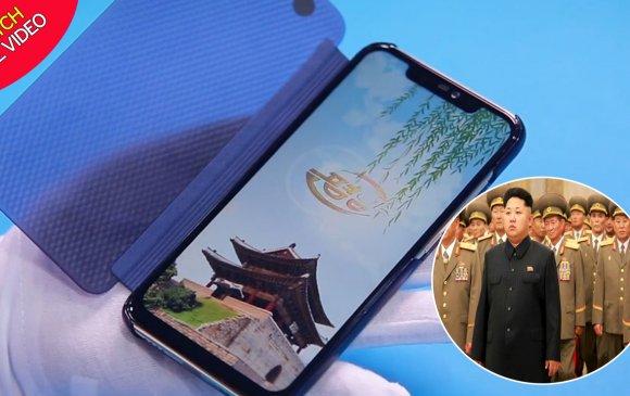 Хойд Солонгос шинэ ухаалаг утсаа танилцуулав