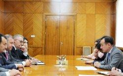 Д.Цогтбаатар бүгд найрамдах Армени Улсын парламентын дэд даргатай уулзав