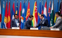Д.Цогтбаатар НҮБ-ын Ази, Номхон далайн эдийн засаг, нийгмийн комиссын чуулганыг даргаллаа