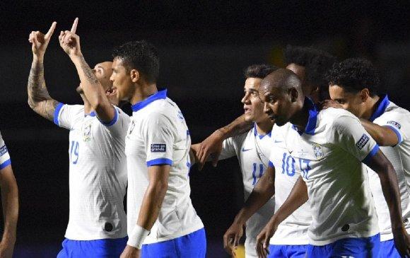 Бразилын шигшээ Копа Америка тэмцээнийг хожлоор эхлүүлэв