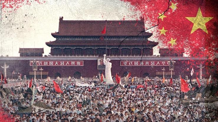 Хятадын эрх баригчид Тянь ань миний хядлагыг түүхээс арчиж байна