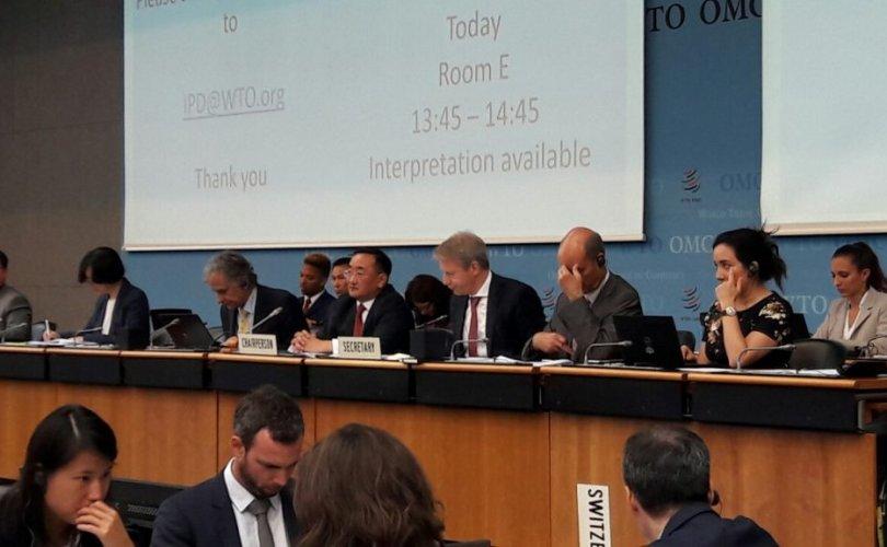 Монгол улс Дэлхийн худалдааны байгууллагын зөвлөлийг даргалж байна
