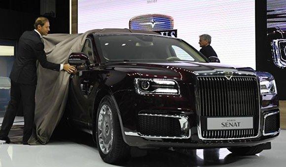 Оросын үндэсний Aurus брэндийн машин эрэлттэй байна