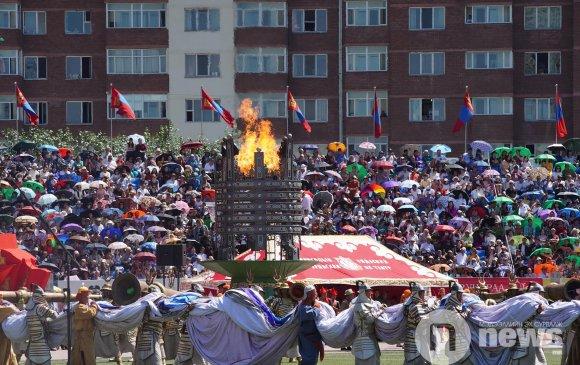 ФОТО: Үндэсний их баяр наадмын нээлтийн үйл ажиллагаа