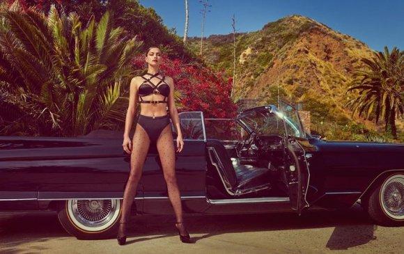 Ирина Шейк Vogue сэтгүүлийн нүүр хуудсыг чимжээ