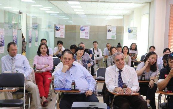 Олон улсын эрдэмтэд Монгол өндгийг иоджуулсан туршлагатай танилцав