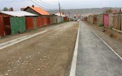 Баянхошууны эцсийн буудлаас 10 дугаар хороо хүртэлх авто замын барилгын ажил дууслаа