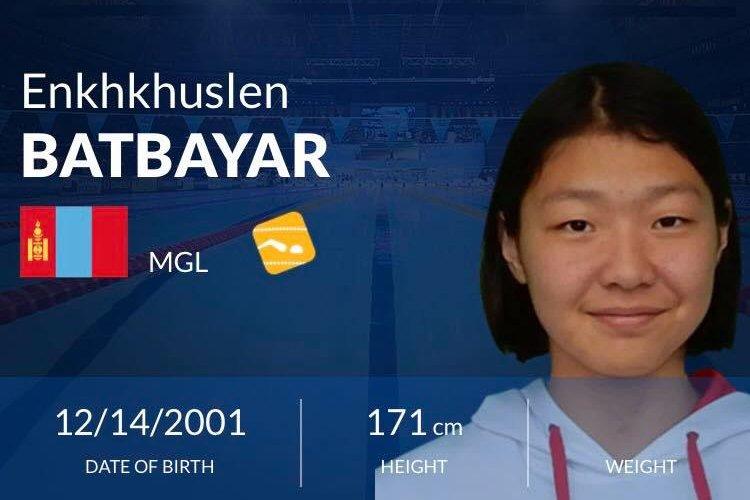 Б.Энххүслэн Монгол Улсын рекордыг шинэчиллээ