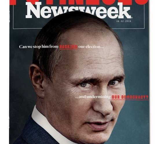 """""""Newsweek"""" сэтгүүл шинэ дугаараа Путинд зориулжээ"""