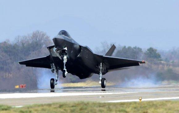 БНСУ АНУ-аас хоёр ширхэг сөнөөгч-бөмбөгдөгч F-35A онгоц хүлээн авчээ