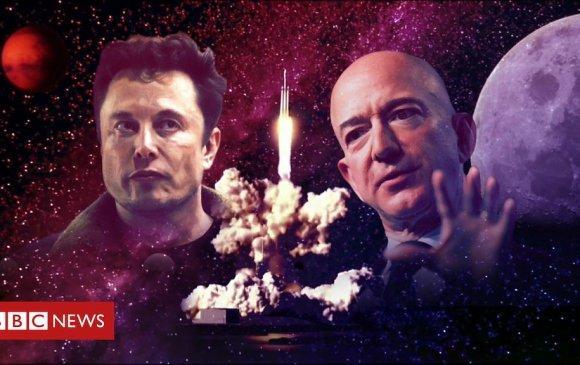 Тэрбумтнуудын тоглоом буюу сансрыг эзлэх өрсөлдөөн