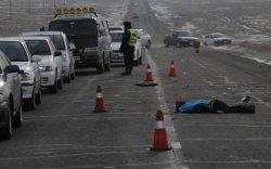 Эмэгтэй жолооч нар зам тээврийн ноцтой осол гаргаж, зургаан хүн нас баржээ
