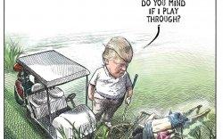 Трампыг элэглэсэн зураач ажлаасаа халагджээ