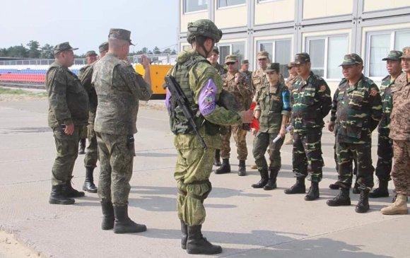 Манай цэргийн инженерүүд эхний хэсэгт БНХАУ, ЛАОС улстай өрсөлдөхөөр боллоо