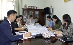 Томъёоллын дэд ажлын хэсгийн хуралдаанд Хэлний бодлогын үндэсний зөвлөлийн төлөөлөл оролцлоо