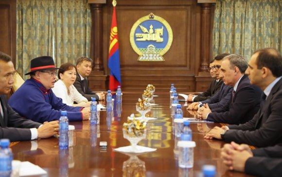 Г.Занданшатар: Азербайжаны баялгийн сангийн туршлага бидний сонирхлыг татаж байна