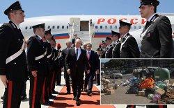 Путиныг ирэх сургаар Ром хот хогноосоо салжээ