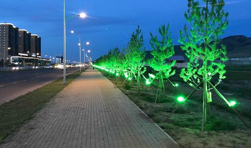 Гэрлэн чимэглэл бүхий гудамж нэгээр нэмэгдлээ