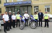 БЗДүүрэг Замын цагдаагийн хэлтэсдээ 2 мотоцикл өгөв