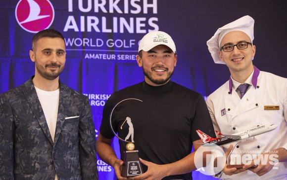 """""""Turkish airlines"""" гольфийн тэмцээнд Б.Самади тэргүүллээ"""