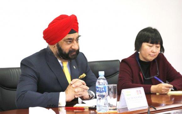 БНЭУ-аас Монгол Улсад суугаа Онц бөгөөд бүрэн эрхт Элчин сайдыг хүлээн авч уулзав