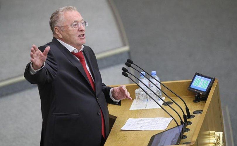 """Жириновский: Зеленскийг """"цуст"""" майдан хүлээх болно"""