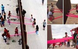 Дүрвэгчдийн хуарангийн хүүхдүүд торны хоёр талаас ч тоглоно
