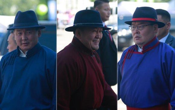 ФОТО: Төрийн гурван өндөрлөг, УИХ-ын гишүүдийн гоёл