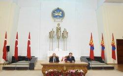 Турк, Монголын эдийн засгийн харилцаа нь бусад салбарын харилцааг түүчээлнэ хэмээн найдаж байна