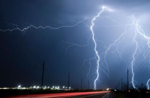 Усархаг бороо орж, 1300 гаруй бог мал аянгад ниргүүлжээ