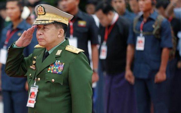 АНУ Мьянмарын цэргийн командлагчид хориг арга хэмжээ авчээ