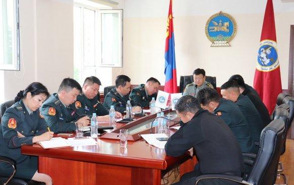 Дотоодын цэргийн байгууллагын тайлангийн хурал, сахилга, ёс зүйн зөвлөгөөн боллоо