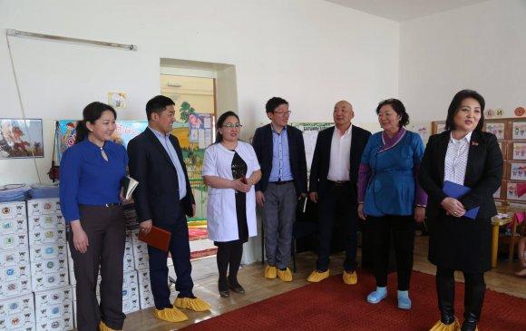 Хан-Уул дүүргийн 5 дугаар хорооны сургууль, цэцэрлэгийн үйл ажиллагаатай танилцлаа