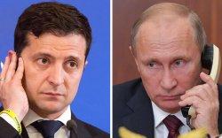 В.Путин, В.Зеленский нар утсаар ярив