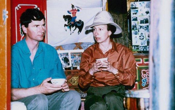 Их Британийн гүнж Анна Монголд айлчлав/1993.07/