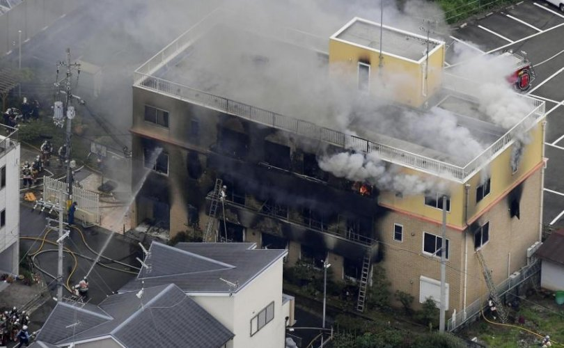 Японы анимэ студийн галын улмаас 33 хүн амь үрэгдэв