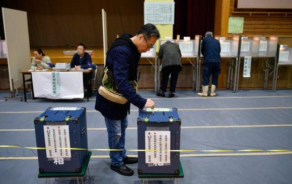 Японд парламентын дээд танхимын сонгууль эхэллээ