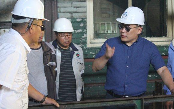 Л.Оюун-эрдэнэ Хэнтий аймгийн бүтээн байгуулалтын ажлуудтай танилцаж байна