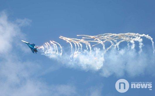 ВИДЕО: Сөнөөгч онгоцны үзүүлбэр