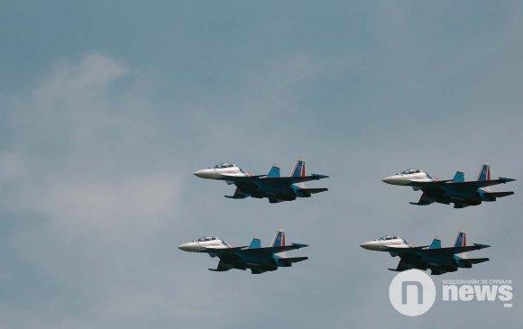 """""""Оросын баатрууд"""" Монголын тэнгэрийг чимлээ"""