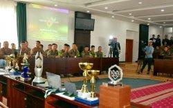 """""""Армийн тоглолт-2019"""" тэмцээнд оролцогч цэргийн албан хаагчдад хүндэтгэл үзүүллээ"""