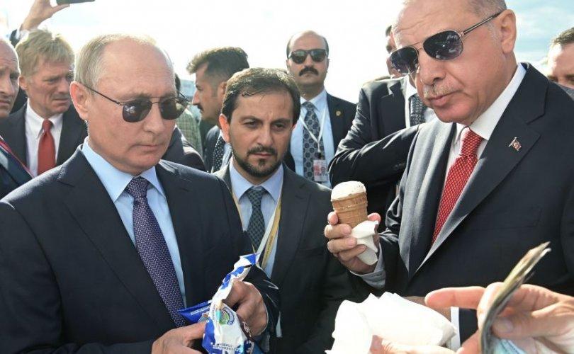 Путин Эрдоганыг мөхөөлдсөөр дайлав